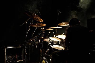 Drummer Photograph - Smoking Drummer by Miranda  Miranda