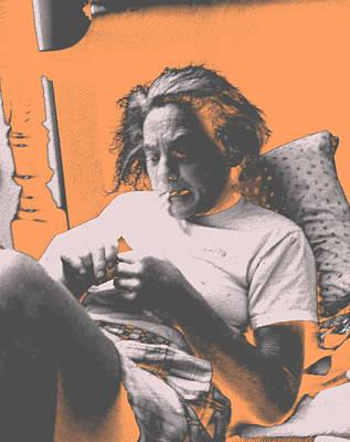 Smoking Hard Coke Art Print by John Toxey