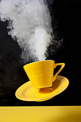 Photograph - Smoking Hot Coffee by Garry Gay