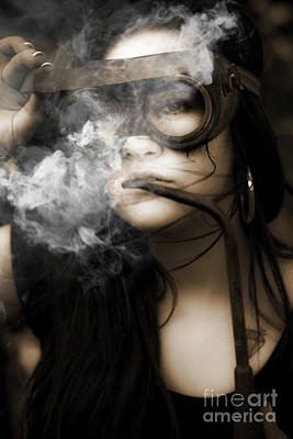 Photograph - Smoking Hot Industrial Worker by Jorgo Photography - Wall Art Gallery