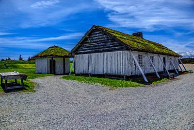Photograph - Smoking Huts by Patrick Boening