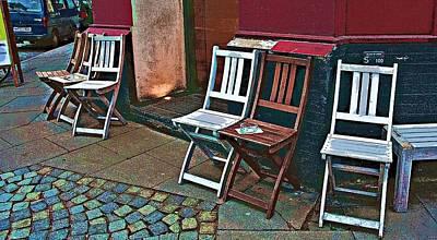 Photograph - Smoking Place by Tatiana Travelways