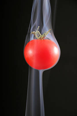 Photograph - Smoking Tomato by Avril Christophe