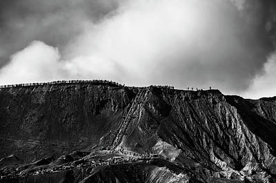 Photograph - Smoking Volcano by Pradeep Raja Prints