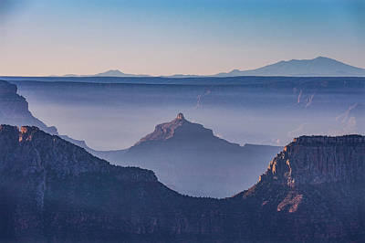 Photograph - Smoky Canyon Morning by David Cote