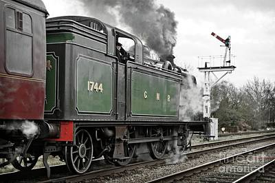 Photograph - Smoky Departure From Quorn by David Birchall