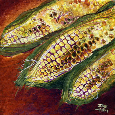 Painting - Smoky Maize by Jaime Haney