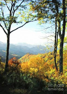 Photograph - Smoky Mountain Autumn by Mel Steinhauer