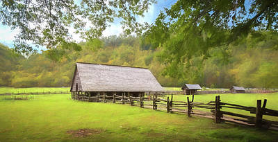 Photograph - Smoky Mountain Barn by Tim Stanley