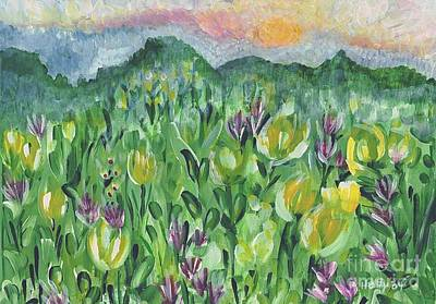Painting - Smoky Mountain Dreamin by Holly Carmichael