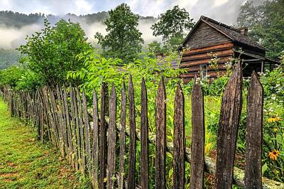 Photograph - Smoky Mountain Farm  by Carol Montoya