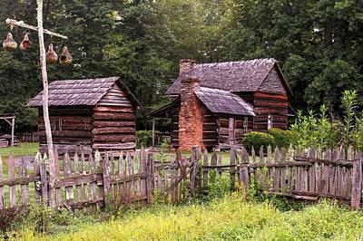 Photograph - Smoky Mountain Farm II by Carol Montoya