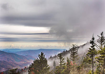 Photograph - Smoky Mountain  by Gene Berkenbile