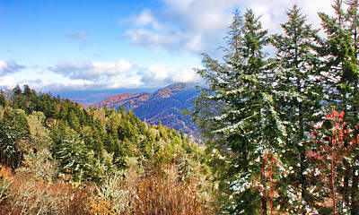 Photograph - Smoky Mountain High - Appalachian Mountains by HH Photography of Florida