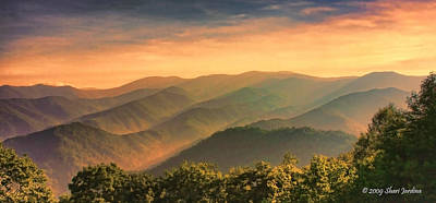 Photograph - Smoky Mountain Layers At Sunset by Shari Jardina