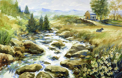 Painting - Smoky Mountain Memories by Carl Whitten