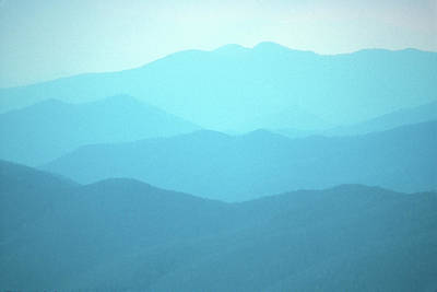 Photograph - Smoky Mountain Mist by John Burk
