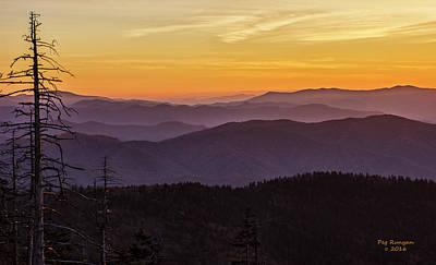 Photograph - Smoky Mountain Morning by Peg Runyan