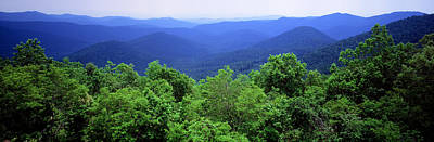 Smoky Mountain National Park Art Print by Panoramic Images