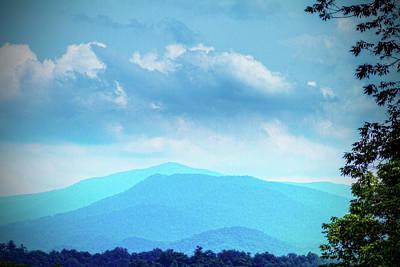Photograph - Smoky Mountain Overlook by Barry Jones