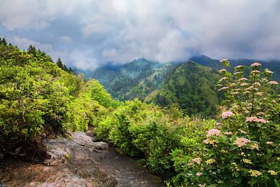 Photograph - Smoky Mountain Overlook by Debra and Dave Vanderlaan