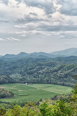 Photograph - Smoky Mountain Scenic View by Victor Culpepper