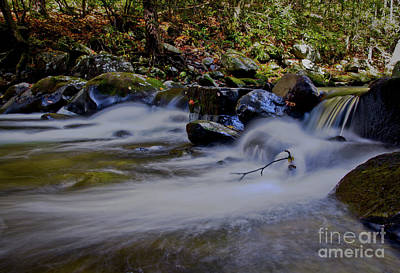 Photograph - Smoky Mountain Stream by Douglas Stucky