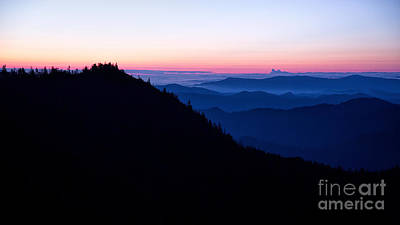 Photograph - Smoky Mountain Sunrise by Jemmy Archer