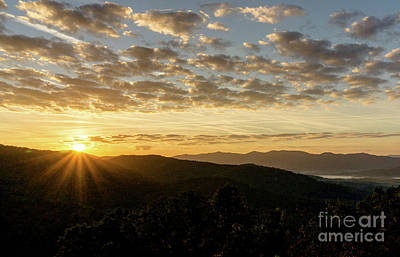 Asheville Wall Art - Photograph - Blue Ridge Sunrise by DiFigiano Photography