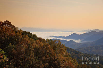 Photograph - Smoky Mountain Sunset by Jill Lang