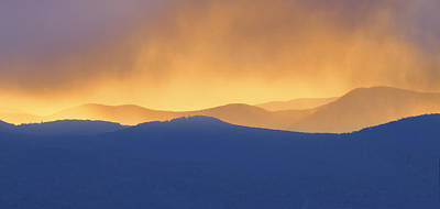 Photograph - Smoky Mountain Sunset by Ken Barrett