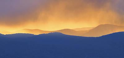 Photograph - Smoky Mountain Sunset by Ken Barrett
