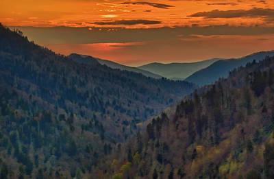 Wall Art - Photograph - Smoky Mountain Sunset by Martin Belan