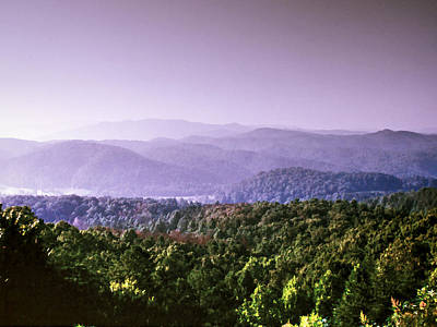 Photograph - Smoky Mountain Tranquility by Barry Jones