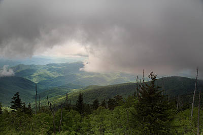 Photograph - Smoky Mountain View by Sally Simon