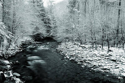 Photograph - Smoky Mountain Winter II by Mike Eingle