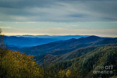 Railroad - Smoky Mountains 4 by Nancy L Marshall