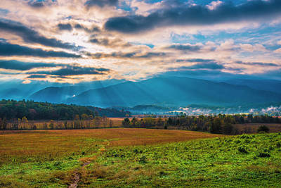 Photograph - Smoky Mountains At Cades Cove II by Steven Ainsworth