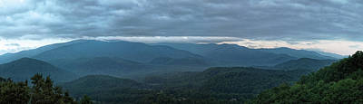 Photograph - Smoky Mountains Pano by Jemmy Archer