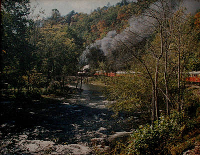 Smoky Mountains Rail Road Original by Joseph G Holland