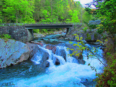 Rucker Photograph - Smoky Mountains Stream by Michael Rucker