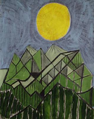 Smoky Mountains Art Print by William Douglas