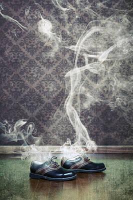 Men Shoe Photograph - Smoky Shoes by Joana Kruse