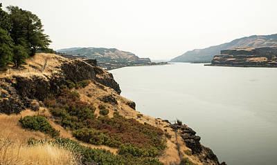 Photograph - Smoky Sky Gray River by Tom Cochran