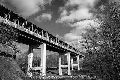 Photograph - Smolen Covered Bridge  by John McGraw
