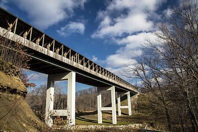Photograph - Smolen Gulf Bridge 3 by John McGraw