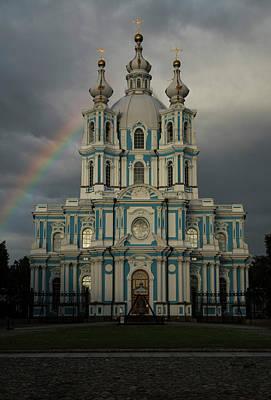 Photograph - Smolny Cathedral by Jaroslaw Blaminsky
