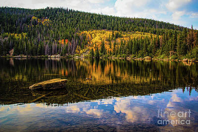Smooth As Glass Print by Jon Burch Photography