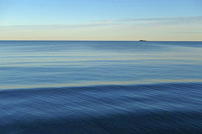 Photograph - Smooth Blue Water On The Lynn Waterfront by Toby McGuire
