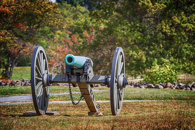National Parks Digital Art - Smooth Bore Napoleonic Cannon by John Haldane